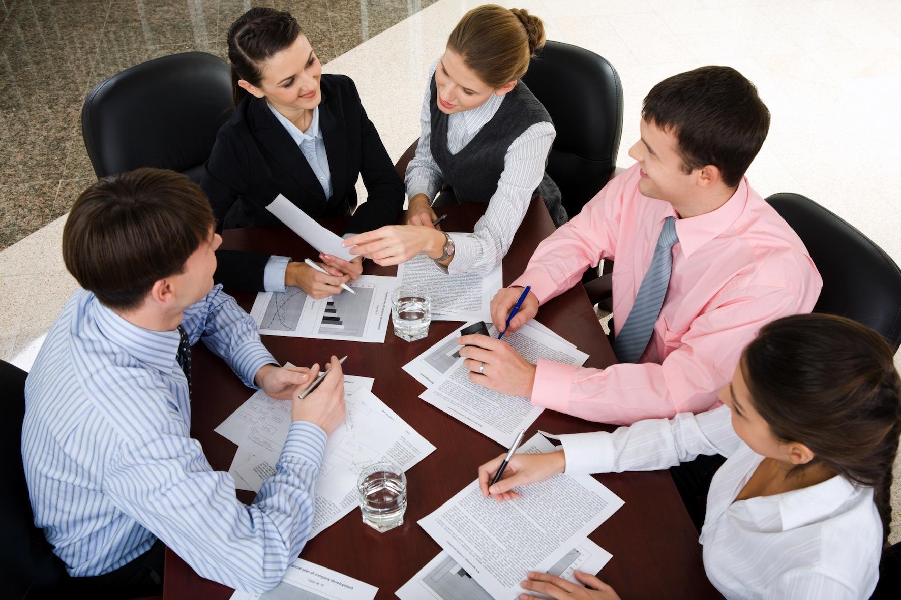 El valor de los equipos de trabajos en la organizaci n for Oficina administrativa definicion