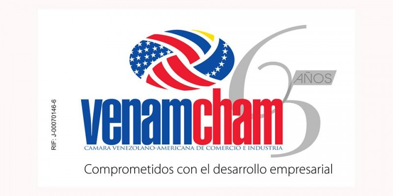 Venamcham Logo 65 años